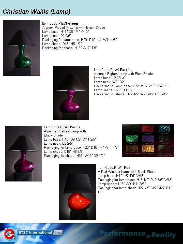 Wooden Vase & Lamp ET2C Int. Inc. Wholesale