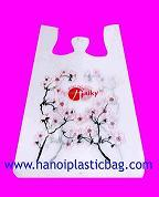 vest carrier bags print many color high quality