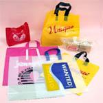Shopping bags, flexi soft loop