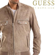 GUESS BY MARCIANO LEATHER JACKET