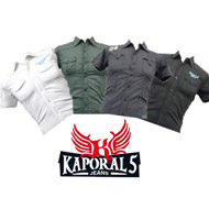 PACK OF 8 KAPORAL SHIRTS FOR MEN