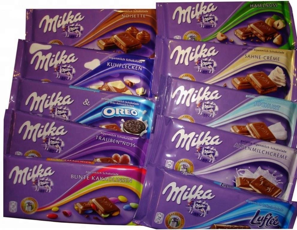 Milka 100g Joghurt Cream Milka 100g Happy Cows Milka 100g