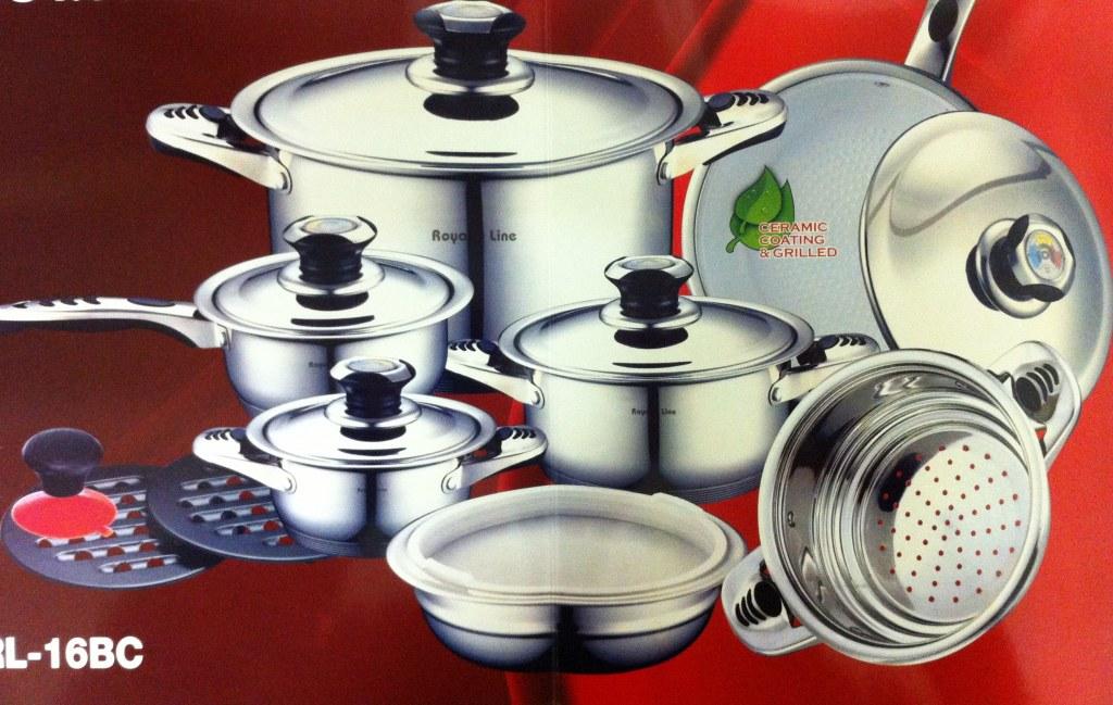 100 Ceramic Pan Set