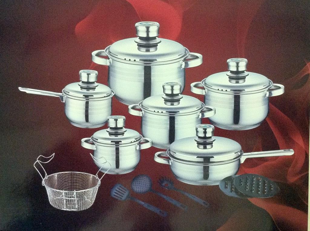 Cookware set 18 pcs royalty line rl 1802 wholesale - Set de cuchillos royalty line ...
