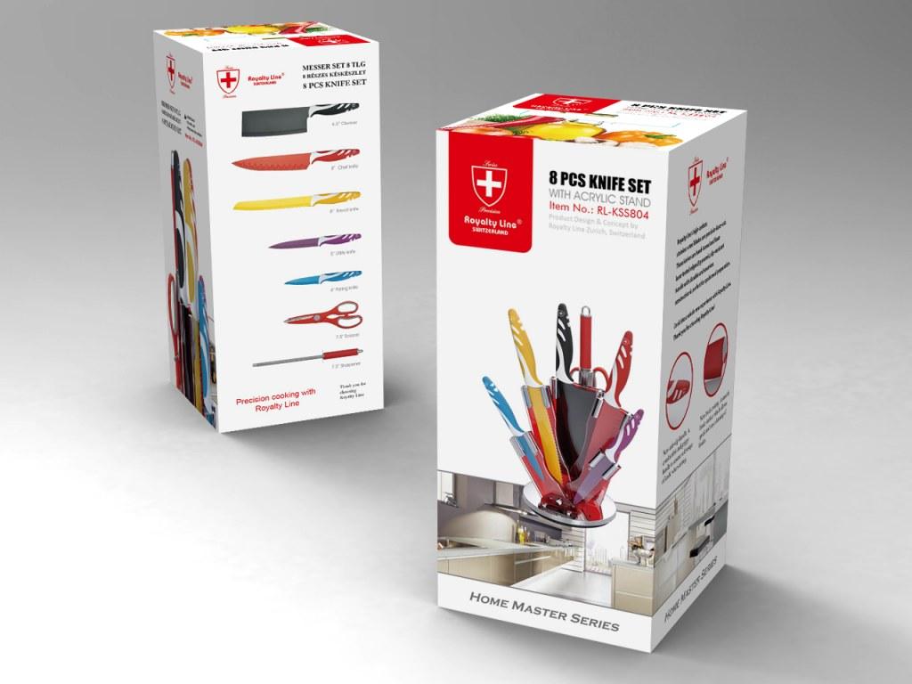 Knife set 8 pieces royalty line rl col8 wholesale - Set de cuchillos royalty line ...