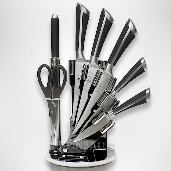 Knife set 8 pieces royalty line rl kss700 wholesale - Set de cuchillos royalty line ...