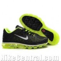 Nike Air Max 2011 Gauze - Black GreenYellow White