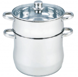 Herzberg HG-5053; Couscous Maker with stainless steel 14L