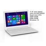 11.6 inch Intel Laptop Quad Core Computer Laptop
