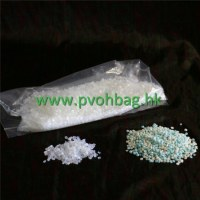 Water soluble chemical packaging bag