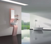 Fashinable bathroom cabinet, bathroom vanity, bathroom furniture