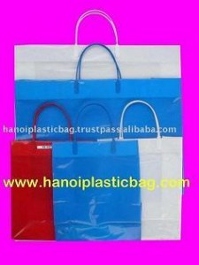 Rigid plastic bag