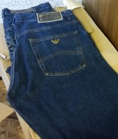 Multibrand jeans and trousers