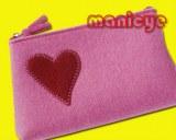 Hot selling felt wallet