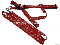 Silkscreen printing pet leash-dog leash/collar