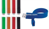 New design silicone bracelets with USB
