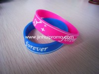 China factory offer variety kinds of silicone bracelets in best price