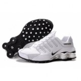Women's Nike Shox NZ White/Black