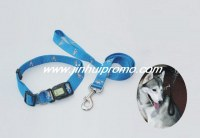 Polyester silkscreen printing pet leash/collar for dog