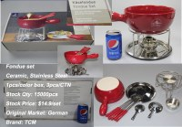Fondue set - Stocklots Fanco