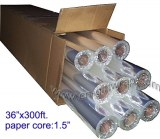"Sell Clear cello film roll of 40"" x 300'"