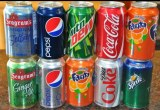 Coca Cola, Fanta, Sprite, Pepsi 330ml soft drinks