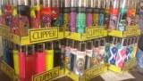 Refillable custom clipper lighters