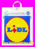 Soft loop plastic bag
