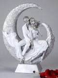Moderne und exklusive Skulptur Liebespaar