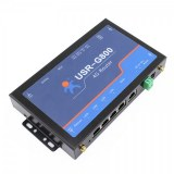 Industrial 4G Router, WIFI 4G router with 4 LAN ports, RS232 port for data