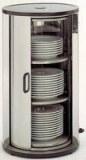 Plate Warmer, acryl glass door
