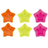 Blaumann BL-1273, Five star silicone cake pan 6 pcs