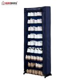 Herzberg HG-8076: 9-Tier Small Shoe Rack Organizer Blue