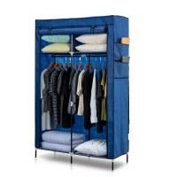 Herzberg HG-8012: Storage Wardrobe Blue