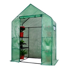 Herzberg HG-8002; Walk-In Greenhouse with Windows
