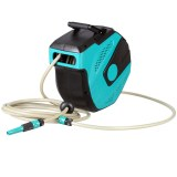 Herzberg HG-8026: 15 M Automatic Water Hose Reel with PP Mount Assemble