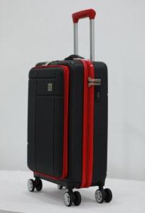 Herzberg Travel HG-8063BLK: Cabin Bag - Black