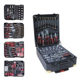 Kraft Muller KM-326:326 Pieces Tool Set With Ratchet Wrench & Alum Case