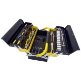 Manssberger 808.605: 58-Pieces Tool Set w/ 5 Compartment Cantilever Tool Box