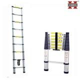 Herzberg HG-5380; Telescopic Ladder 3m80