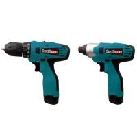 Kraftmax Professional Power Tools KF-CD016; 20v Cordless Drill & Impact Driver Combo Kit