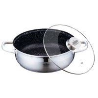 Peterhof PH-25306; Frying pan with lid with granite coating 4.3L