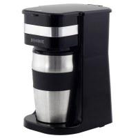 Royalty Line KME-700.325.4: Portable Coffee Maker with Travel Mug
