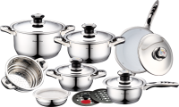 Royalty Line RL-16B; Inox Cookware Set 16pcs​