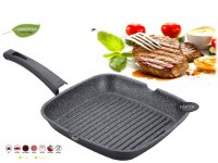 Royalty Line RL-AG24M:Marble Coated Grill Pan - 24cm