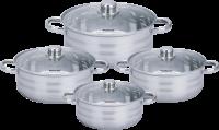 Royalty Line RL-SP7; Cookware Set with lids 8pcs