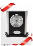 Clock factory skeleton desktop clock