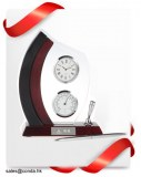 Clock factory desktop clock for business gift