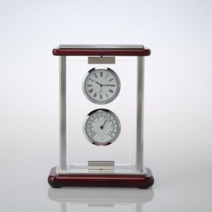 Clock factory wholesales desktop clock for business gift