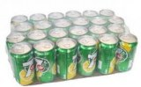 7 Up Soft Drink Cans